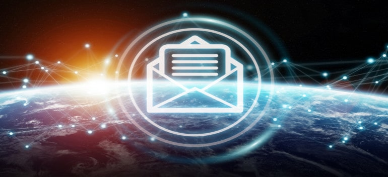 Emails exchanges planet earth