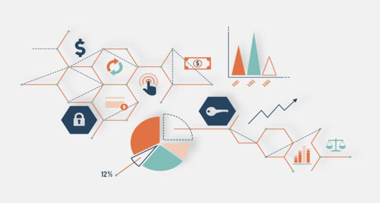 Illustration data analysis graph