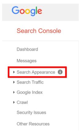 search-appearnance