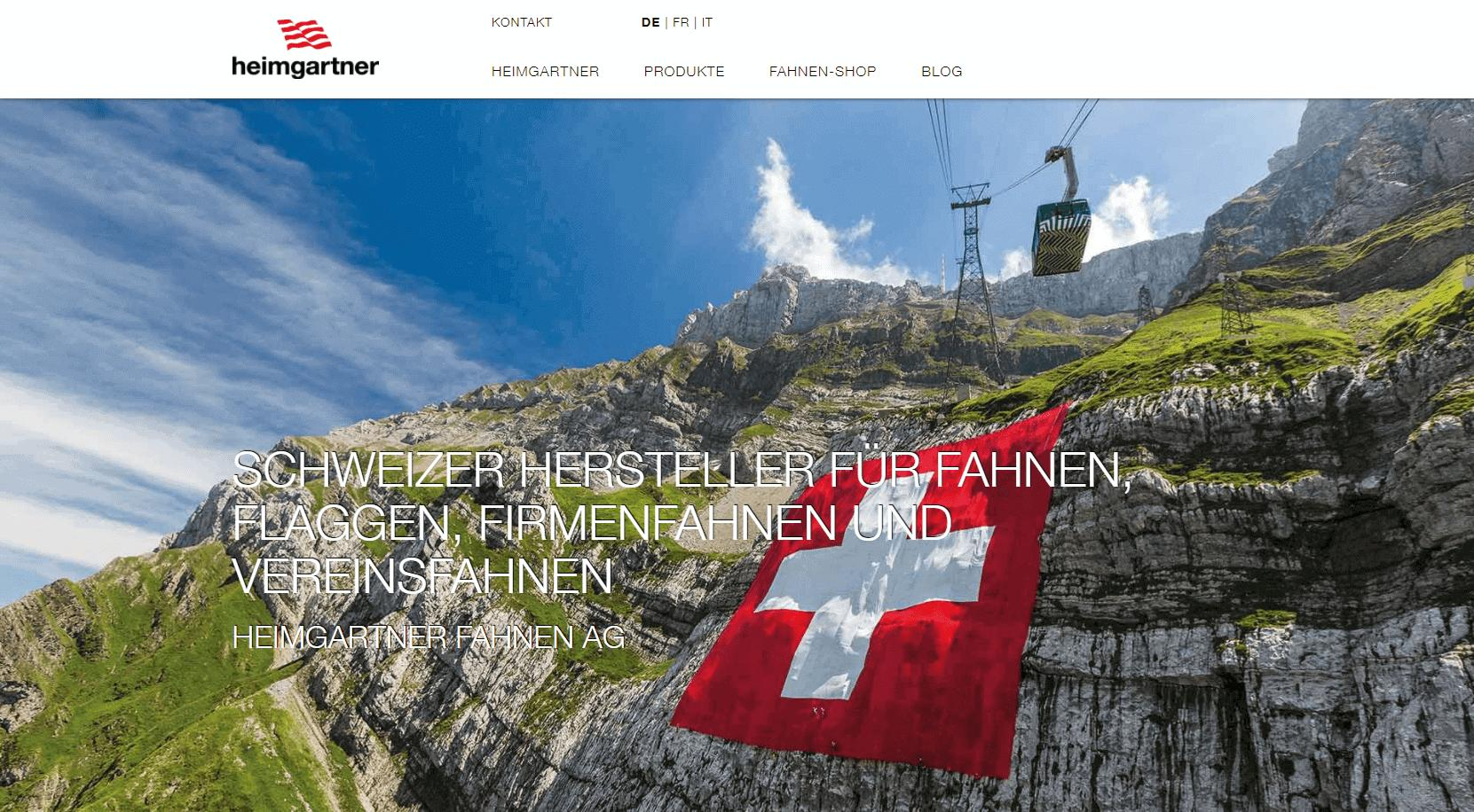 Heimgartner-Website