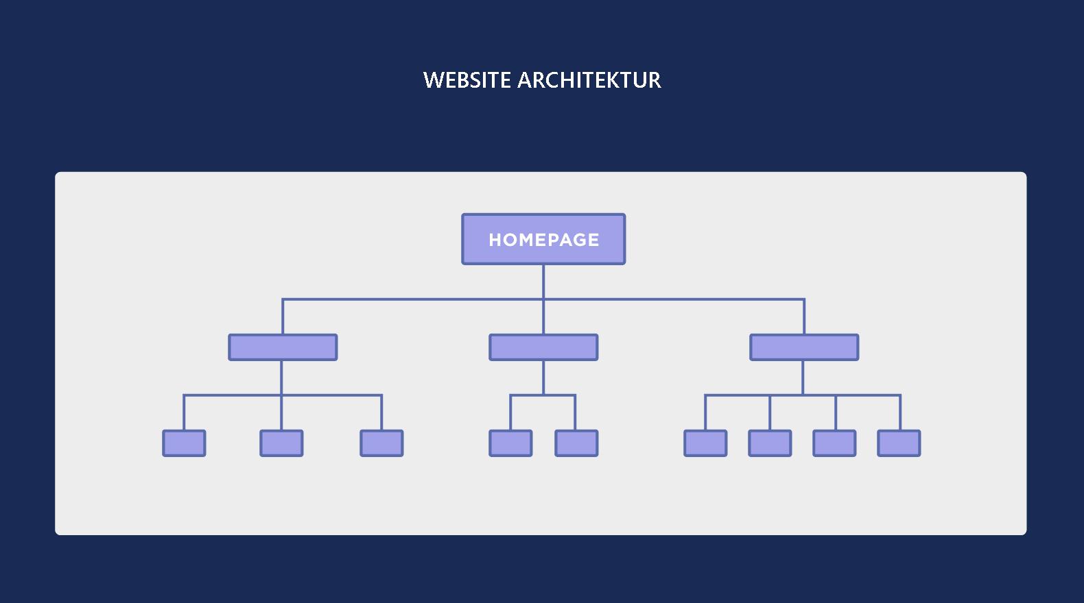 Website Architektur
