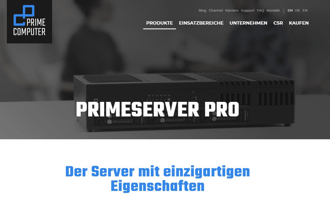 PrimeServer Pro
