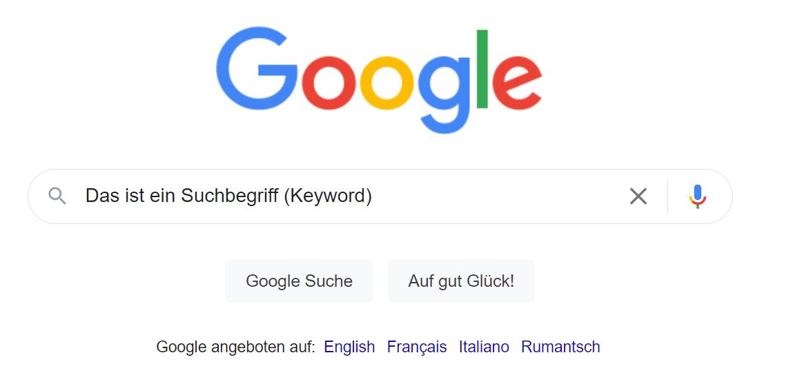 Was ist ein Keyword?