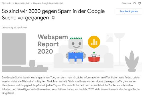 Webspam Report 2020